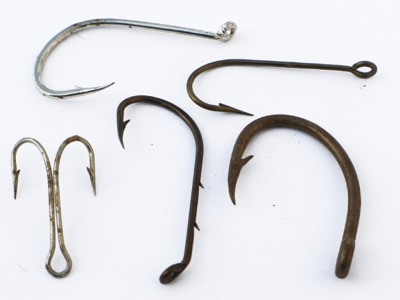 REMOVING RUST FROM HOOKS AND LURES WILL NOT SOLVE THE PROBLEMRUST IS A RESULT OF THE PROBLEM -