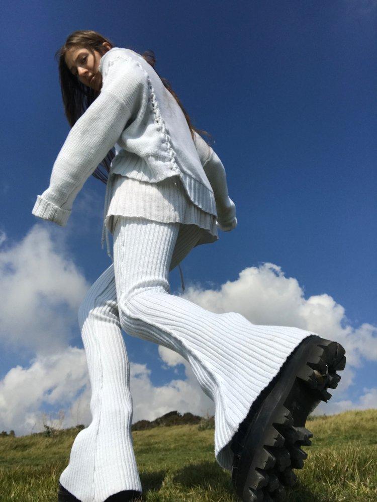 Knorts Denim Knitwear Creme