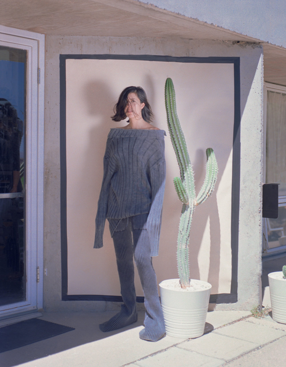 artFORM Weekly Words    by Stephanie Malik    WEEK 5: Half Waif     Why do you think denim continues to be popular from decade to decade?   It satisfies two of the most important fashion criterion: comfort and style. It's also sort of a blank canvas for creativity…
