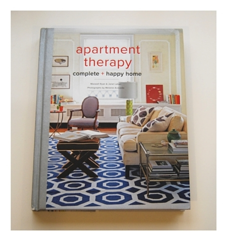 Book Review: Apartment Therapy - Complete + Happy Home — drawnHOME