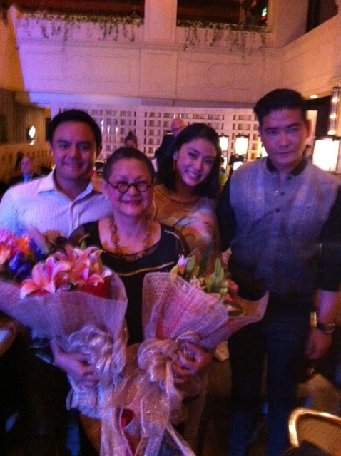 With Rustan's Marketing Head, Dina Tantoco and Tim Yap.