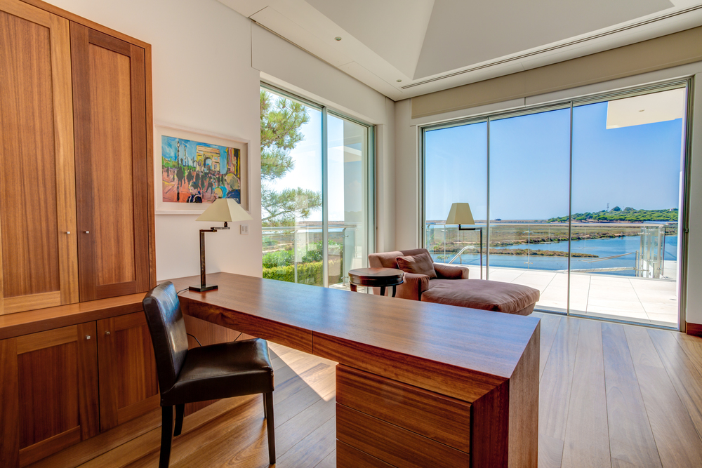 Villa Moon Sone, 5 bedroom prestige villa in Quinta do Lago, Algarve, master office.jpg