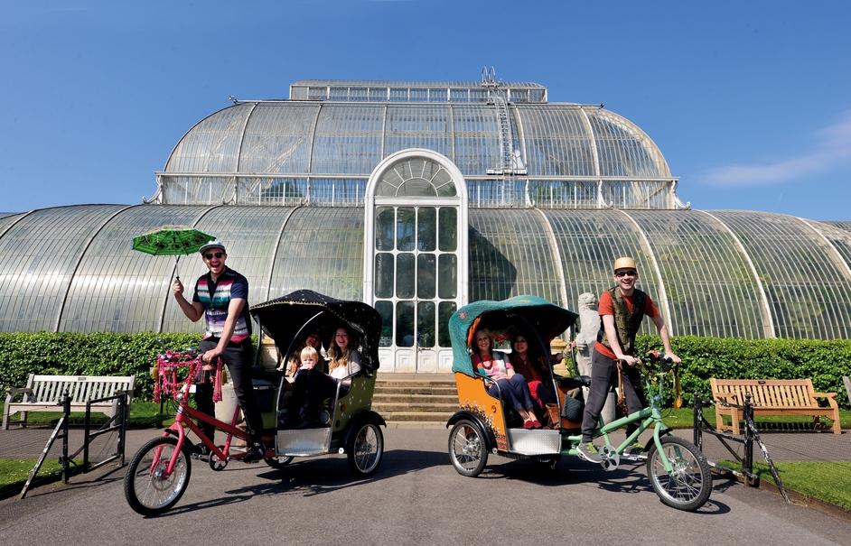 Spice Rickshaws at Kew www.kirstidavies.com