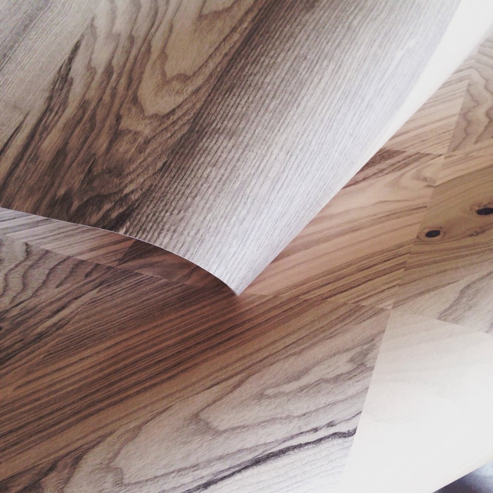 The way that Woodsman 1 and Woodsman 2 Wallpapers work together is the key to The Joinery Collection