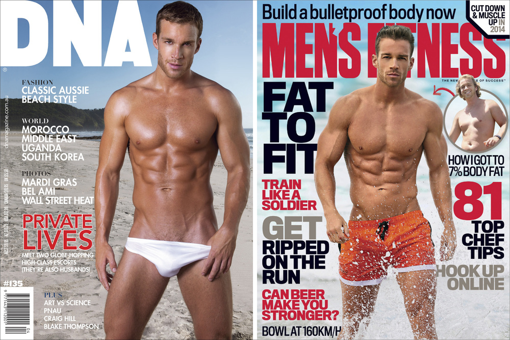 DNA Magazine Mens Fitness