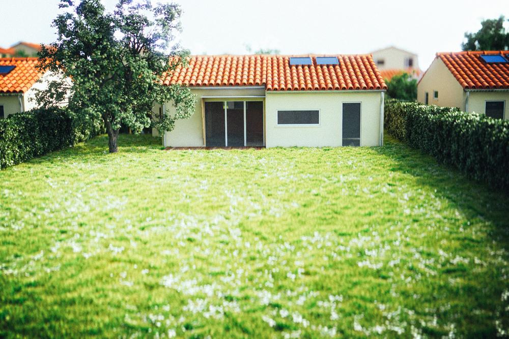 Jardin de la Maison n°07 (T4)