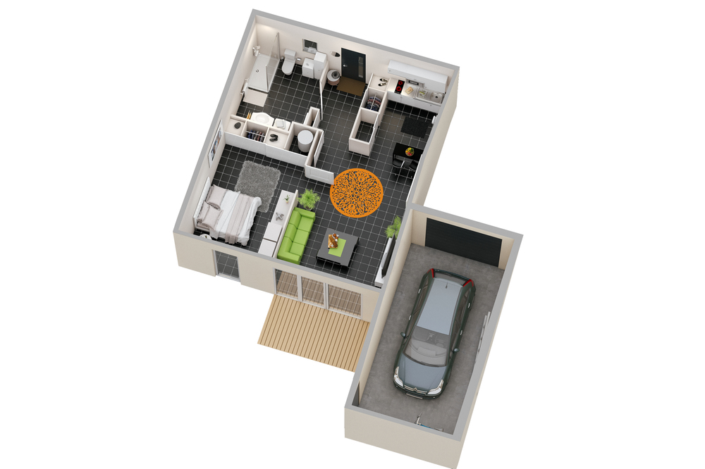 Maison n°01 (T2)