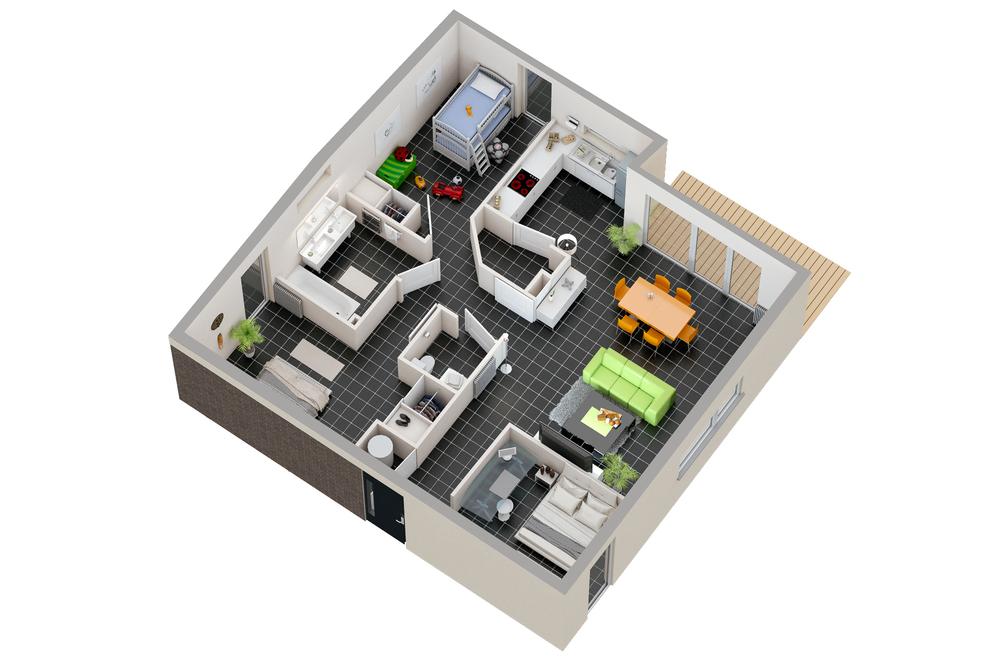 Maison n°09 (T4)