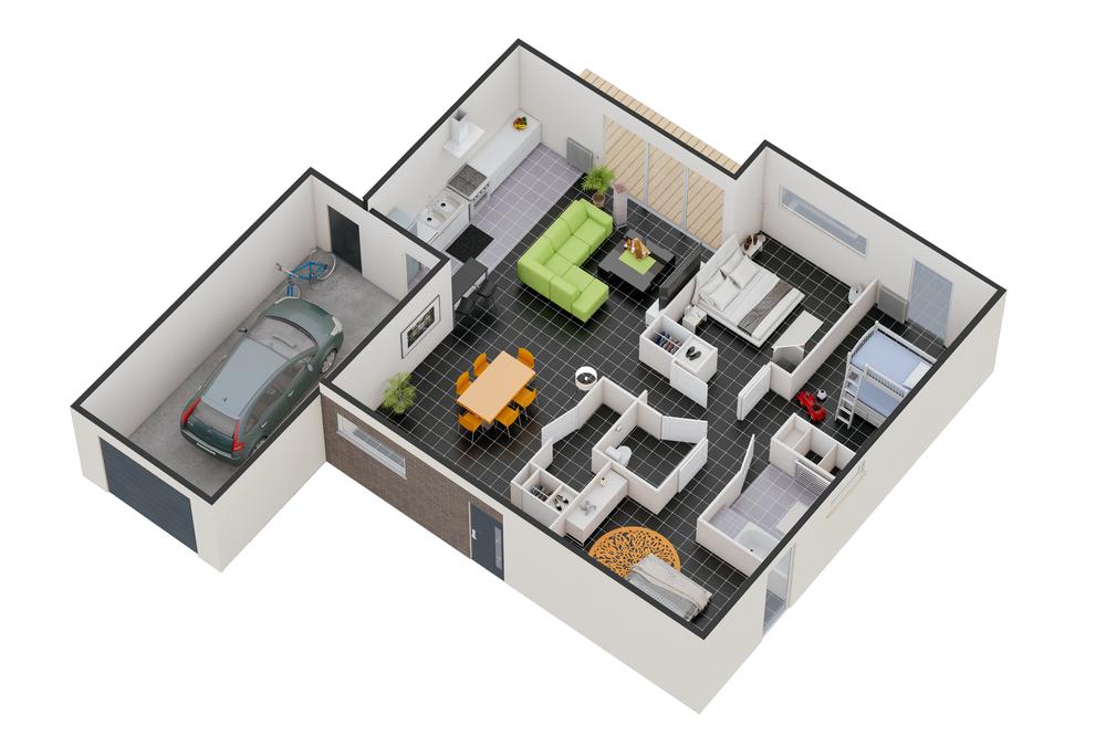 Maison n°08 (T4)