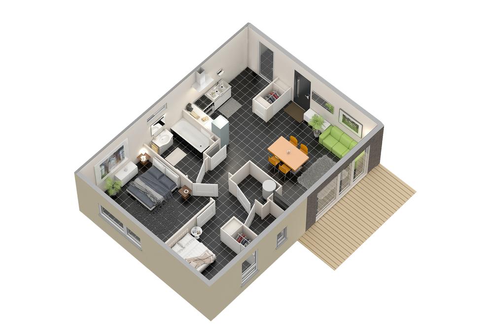 Maison n°12 (T3)