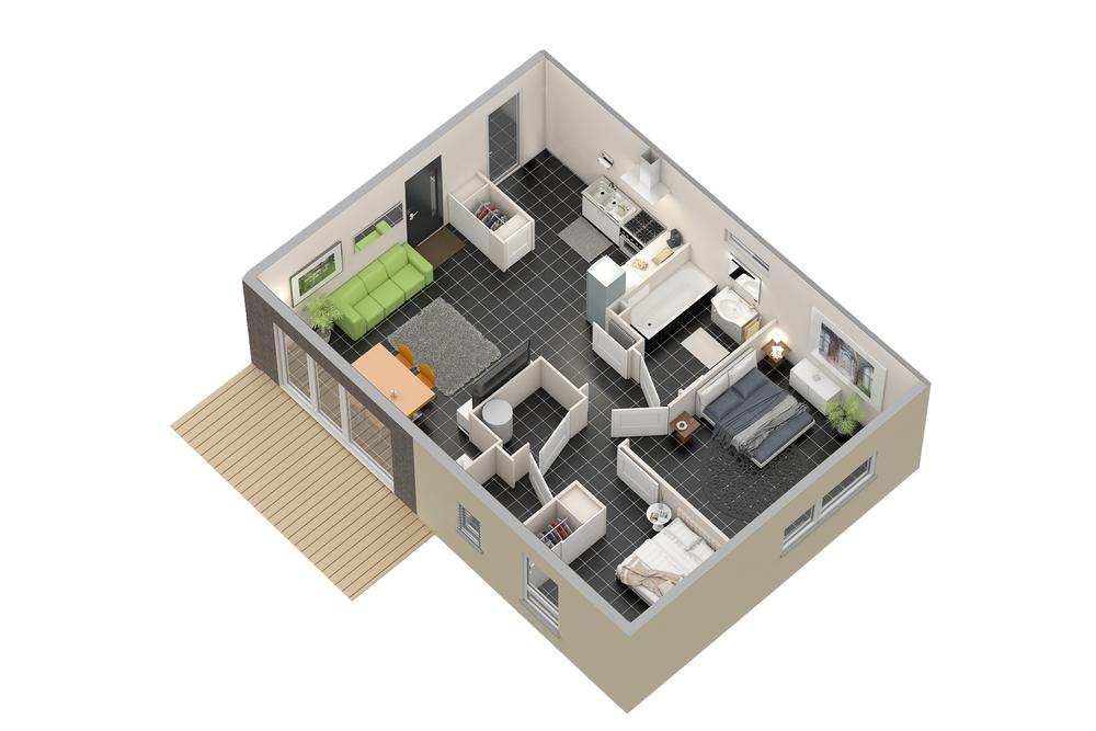 Maison n°13 (T3)