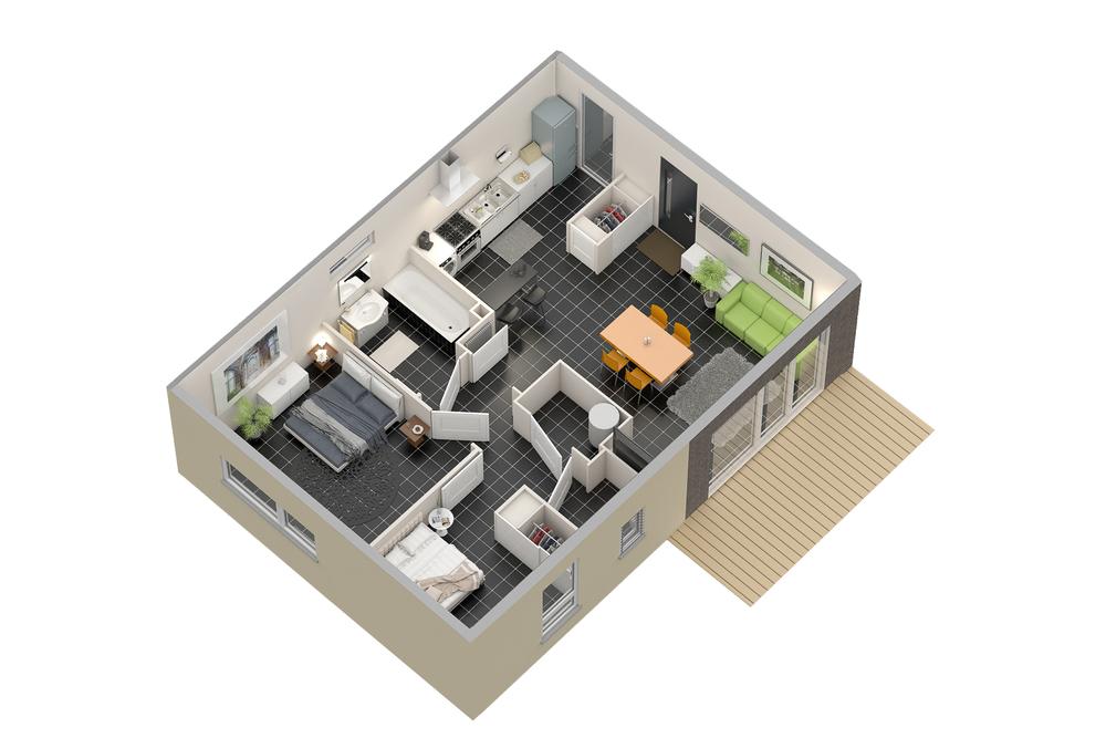 Maison n°14 (T3)
