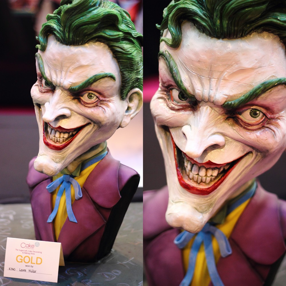 Batman's the Joker 3D Bust Cake