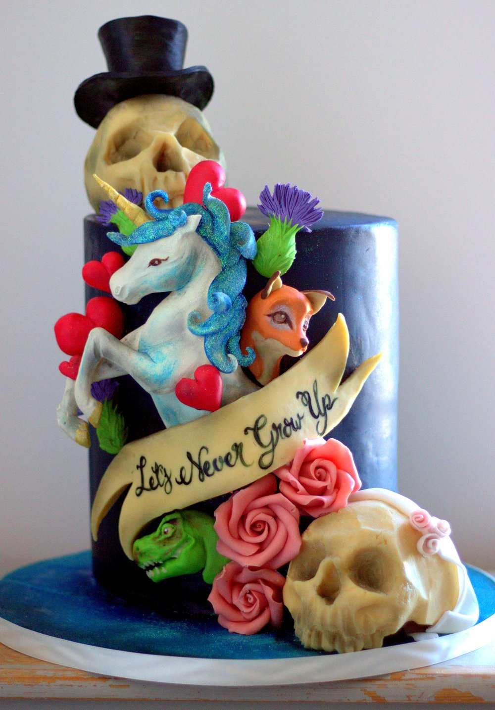 Alternative Unicorn Wedding Cake