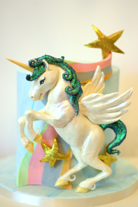 Unicorn Pegacorn Cake