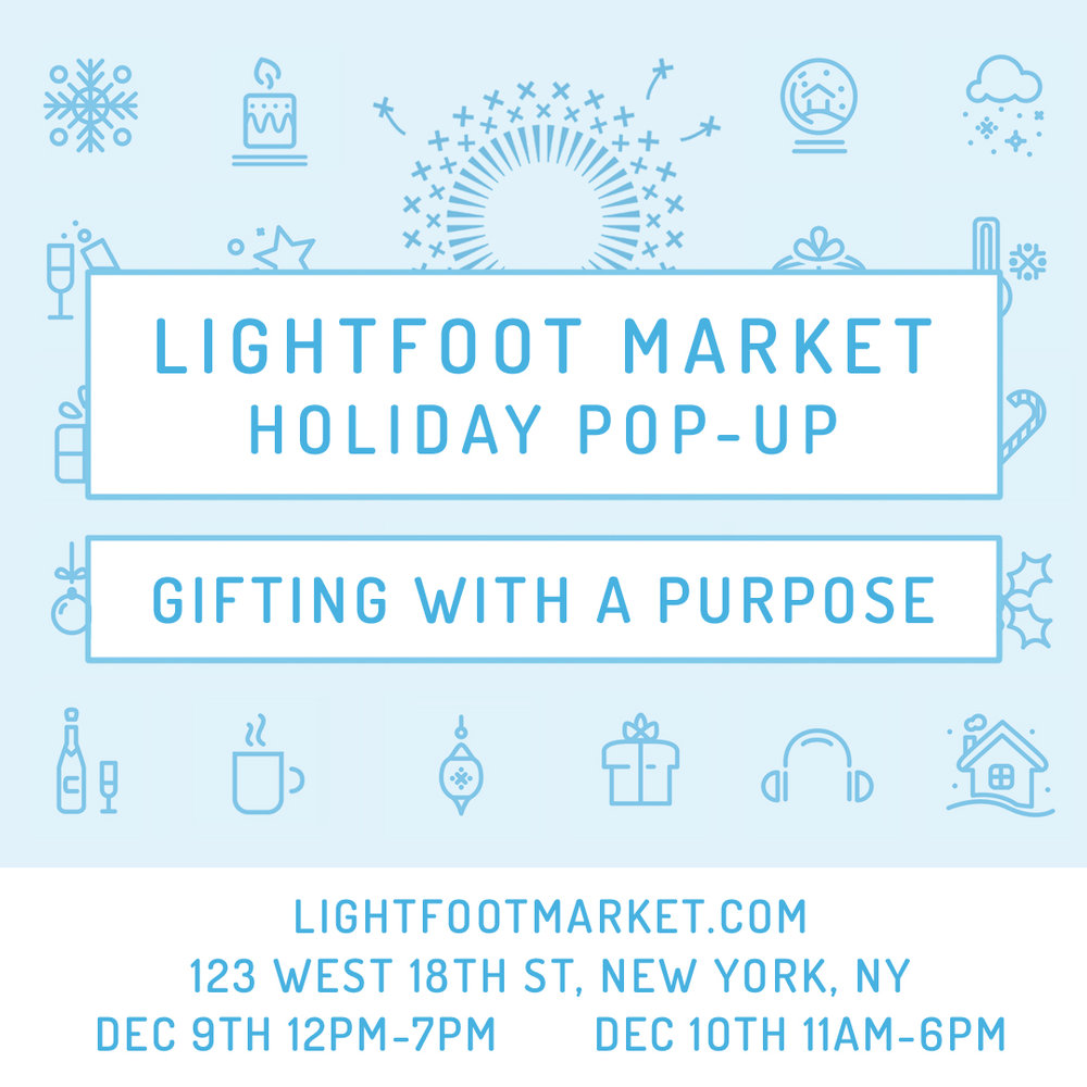 As we prepare to celebrate this Holidays, please join us in supporting small, local businesses whose values you share and come meet the people behind the work. You'll have fun and your gifts will have meaning and a positive impact. What's not to love?     Hope to see some of you at either or both of these great Holiday pop-ups.     Happy Holidays from Various Mediums Inc.! xx