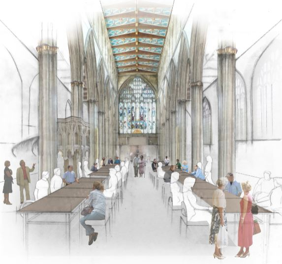 Future Community Lunch in the Nave