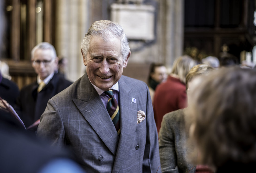 HRH The Prince of Wales was an inspiring and infectious presence during his visit to Holy Trinity.