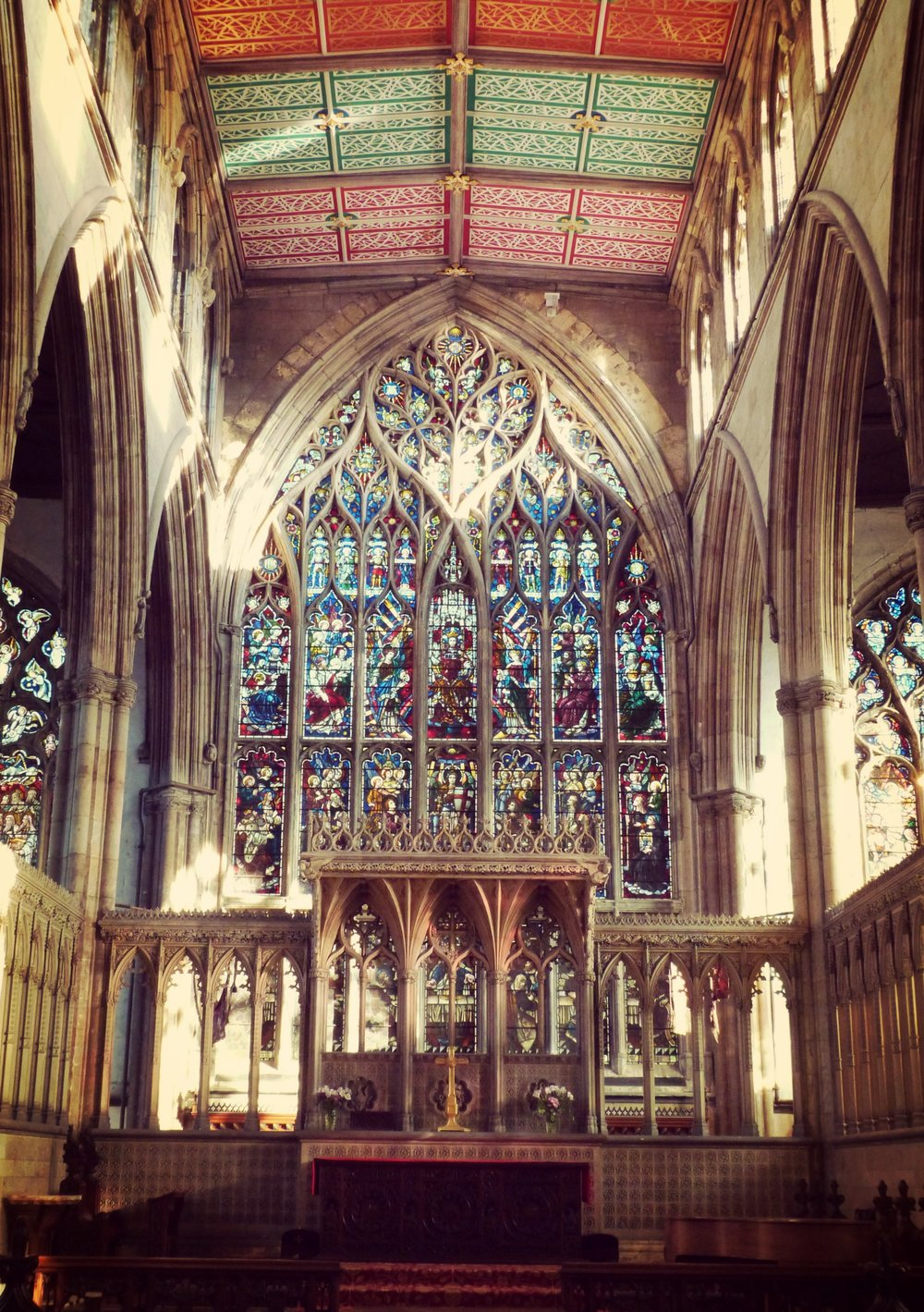 The Chancel and East Window