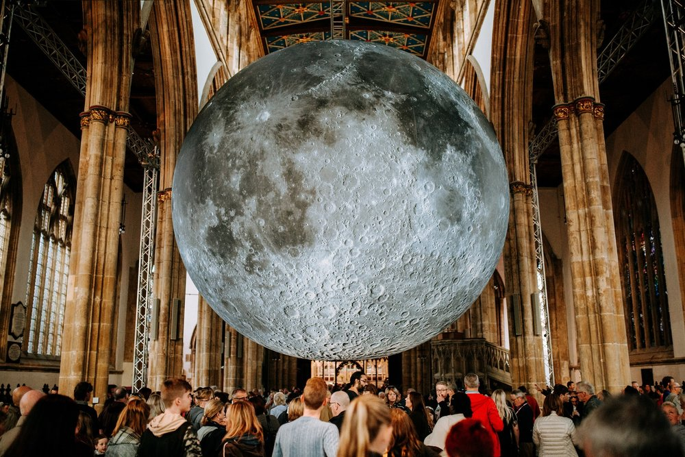 The spectacular Museum of The Moon installation was the biggest draw to Hull Minster in 2018, attracting 82,000 people. Picture: Tom Arran/Freedom Festival