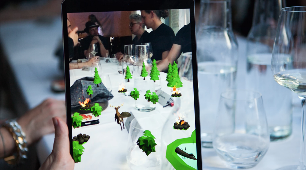 Credit: Sound Design for interactive, immersive dinner experience Remnant