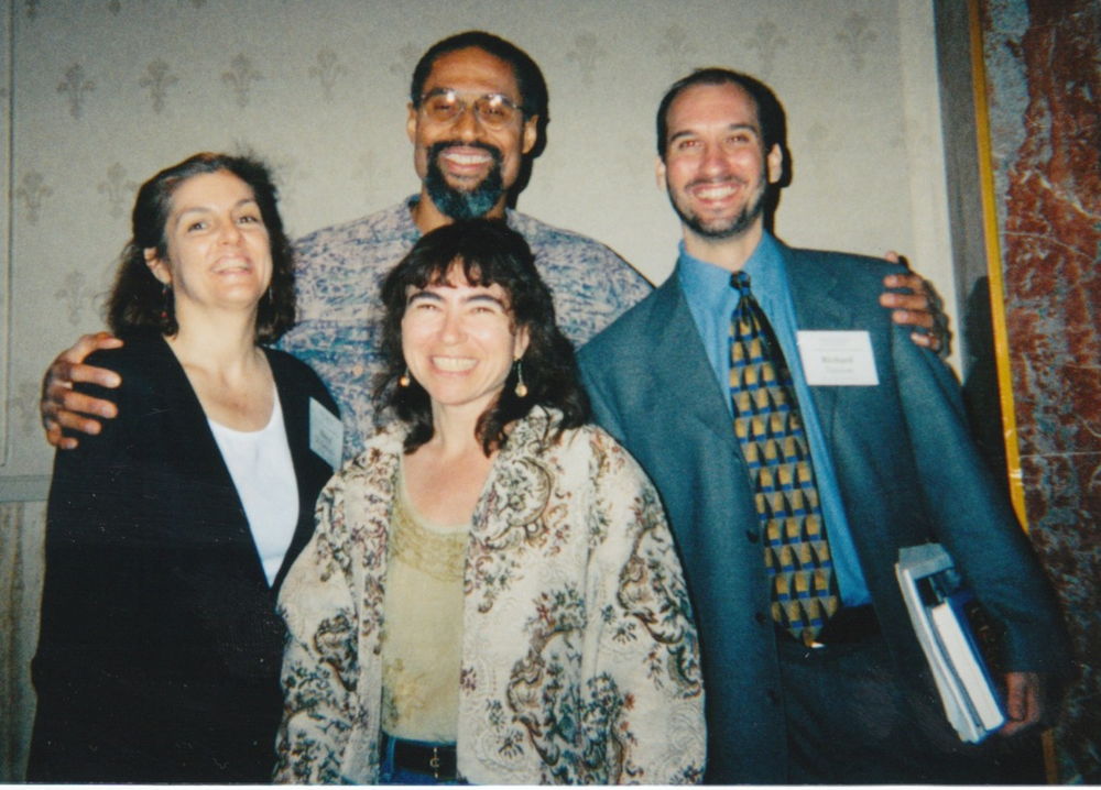With Tim Seibles, Ruth Schwartz, and Sheryl St. Germain.