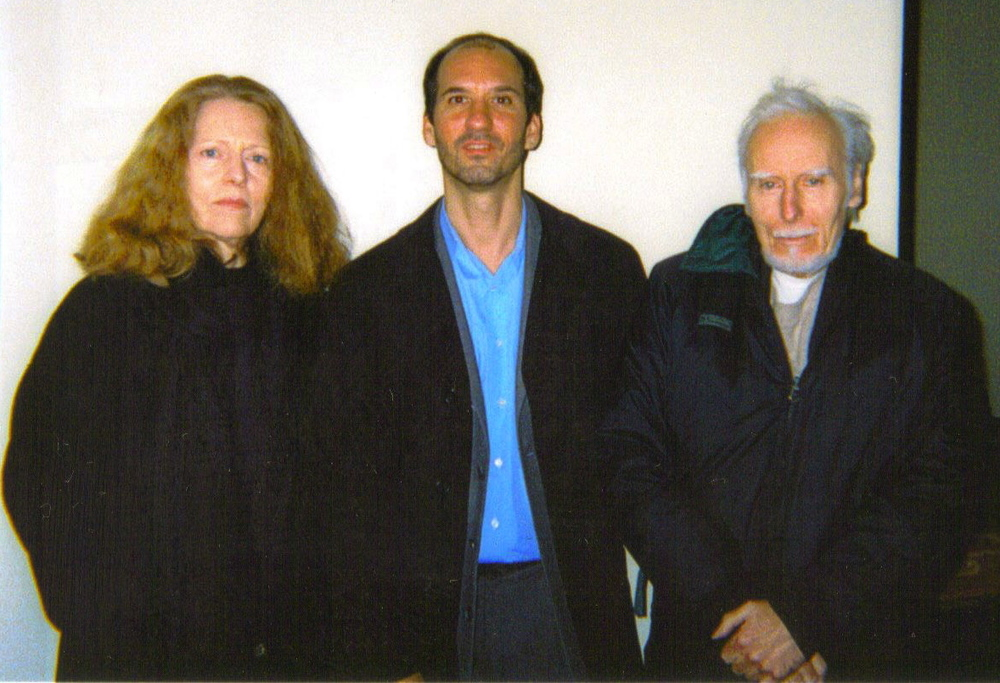 With Linda Gregg and Jack Gilbert. I first met Linda in a Rocky Mountain oyster bar n Greeley, Colorado. Her  Too Bright to See  has been a work my imagination continues to return to after all these years. I first met Jack--who has sadly passed on--at Linda's apartment. We're on our way to a poetry reading.