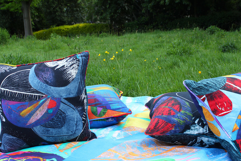 SO KLARA   Eridani  and  Arcadia   Scatter Cushions