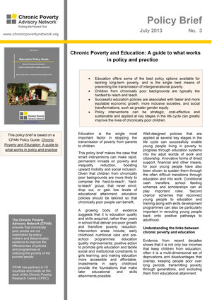 Education Policy Brief: A guide to what works in policy and practice ...