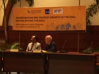 Pro-poorest growth Conference - Manila