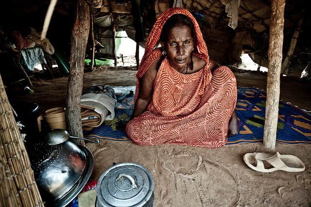 Fatimata Djenebou, refugee from Mali  Photo: Pablo Tosco/Oxfam