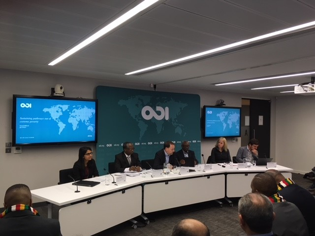 Sustaining pathways out of extreme poverty - ODI, London, Feb 2018
