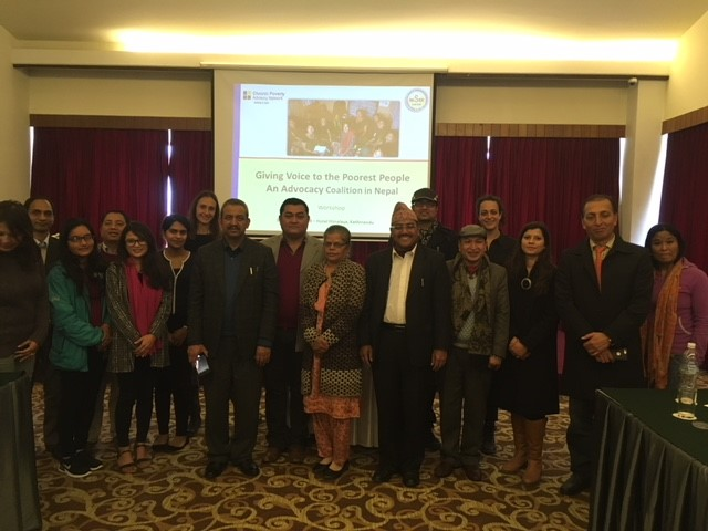 Working with civil society - Kathmandu 2018