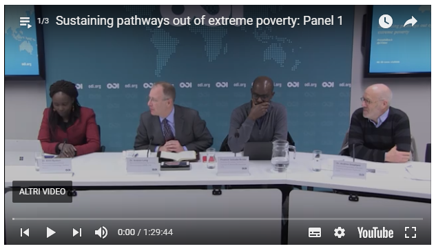 Sustaining pathways out of extreme poverty - 6th Feb 2018