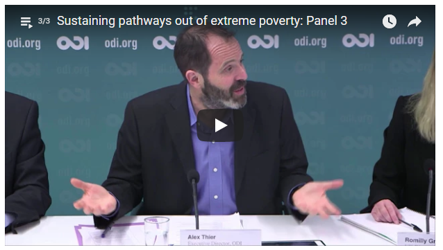 Sustaining pathways out of extreme poverty - 6 Feb 2018