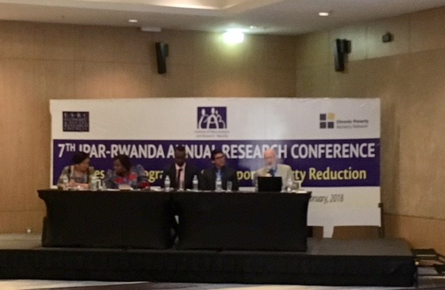 IPAR and CPAN Conference - Policies and programmes to support poverty reduction - Kigali, 2018