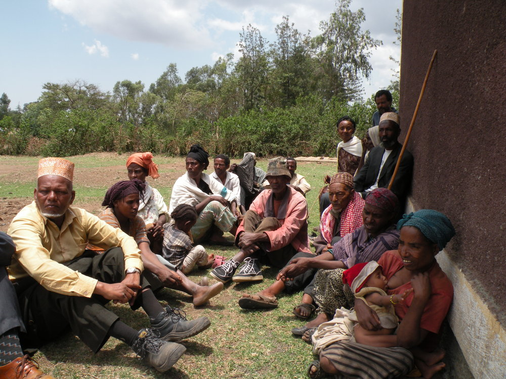 Photo: A group of farmers in rural Ethiopia. Photo Credit: Chiara Mariotti, Oxfam