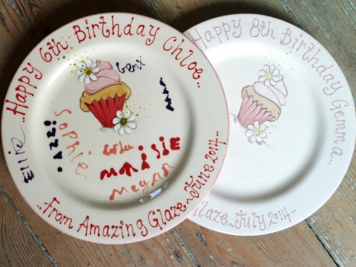 Bespoke party plate for guests to sign, included in the Silver or Gold packages or as an extra item in the Bronze package