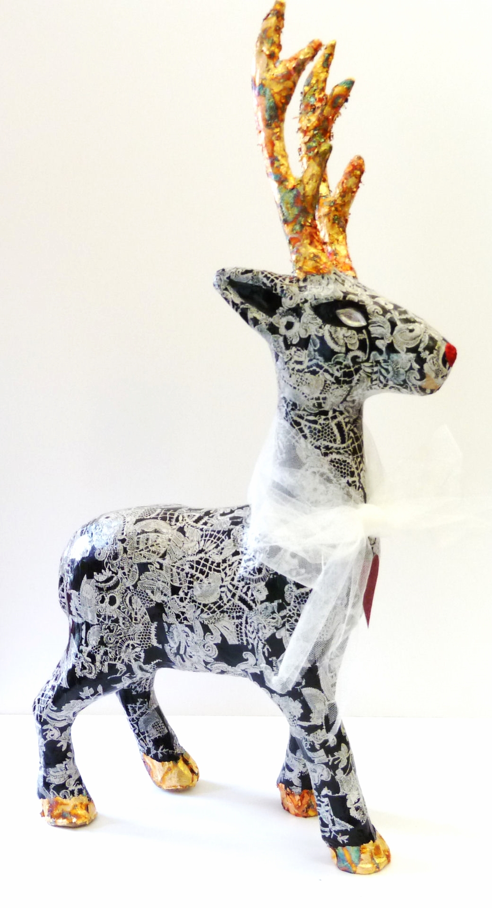 Decopatch your reindeer at our late night workshop
