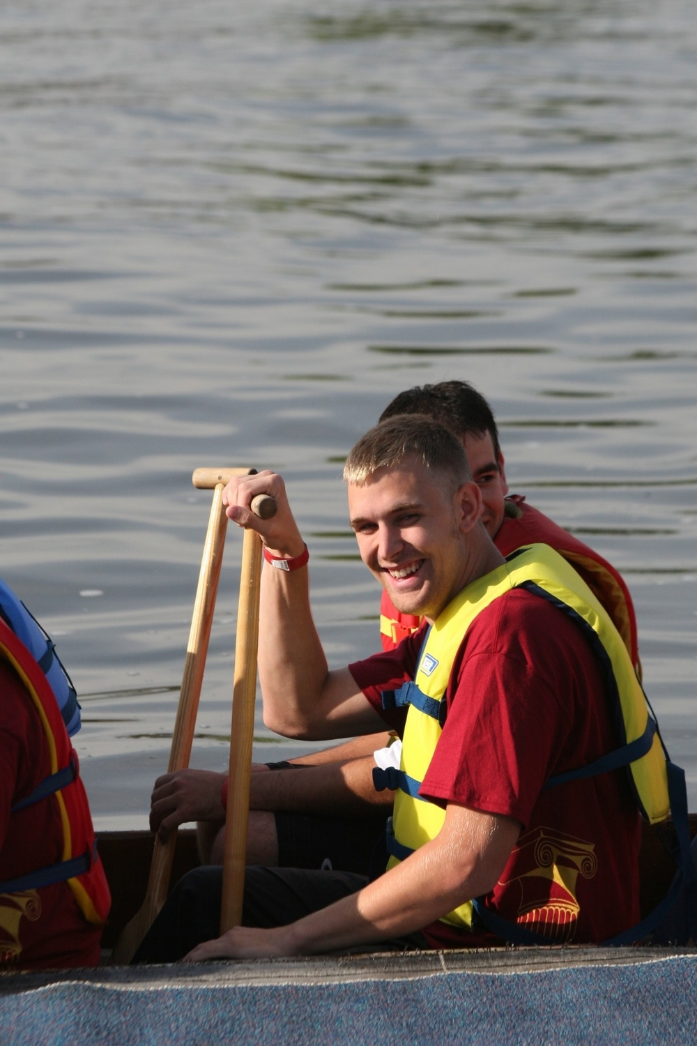 Dragon Boat race while attending UW Oshkosh in 2007.