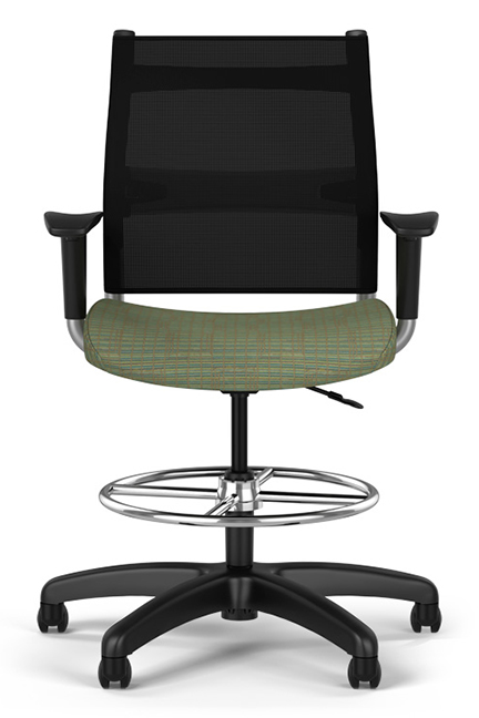 Ergonomic Wit midback and highback chairs are equal parts design, comfort and value - keenly suited for task, conference and collaboration settings.
