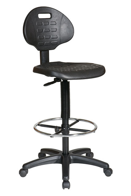 Standard Drafting Chair with Adjustable Footrest