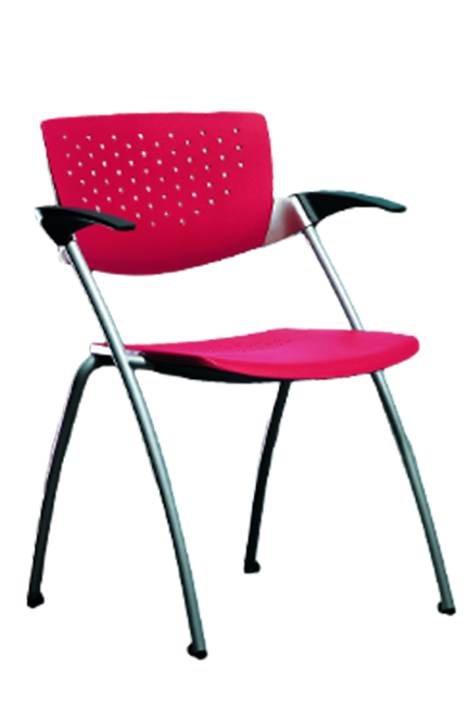 Easy to stack, the Filigra line of multi-purpose chairs is the perfect choice for conference rooms, waiting rooms or classrooms. The polymer seats and backs feature optional upholstery.