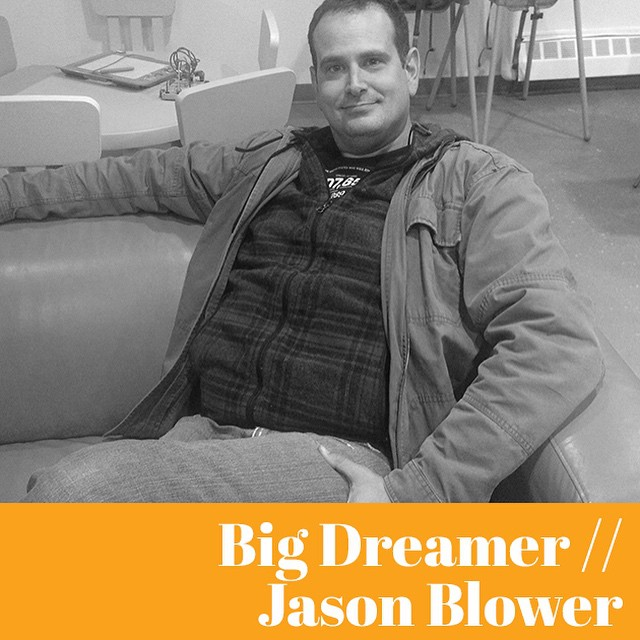 Jason Blower is making his big dreams come true in Edmonton. You've probably seen his fun illustrations of #yeg landmarks before. Find out what makes this artist interesting on thenoteworthy.ca