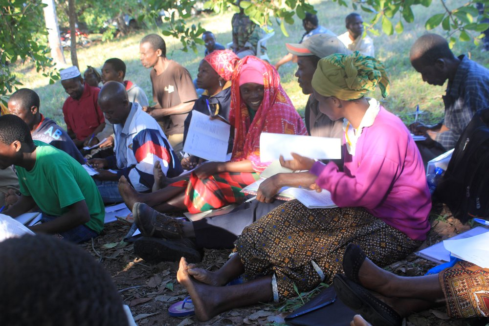 Angoche district, Nampula province  - MozaCajú promoters, exemplary farmers who are chosen as leaders by their communities, learn production techniques in order to disseminate the knowledge back in their communities |  MozaCajú promotores, os produtores exemplares que são escolhidos por suas comunidades, aprendam várias tecnicas de produção para partilhar nas suas comunidades
