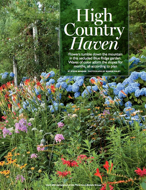 """High Country Haven"" Southern Living July 2011"