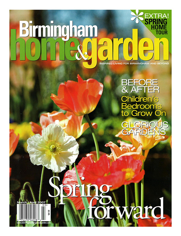 """Spring Formal"" Birmingham Home & Garden March/April 2007"