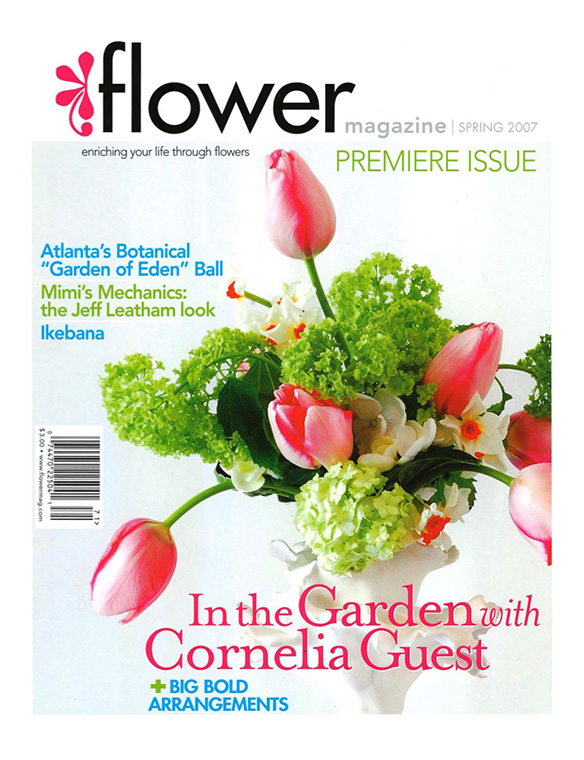 """Flowers for the Heart"" Flowers Magazine Spring 2007"
