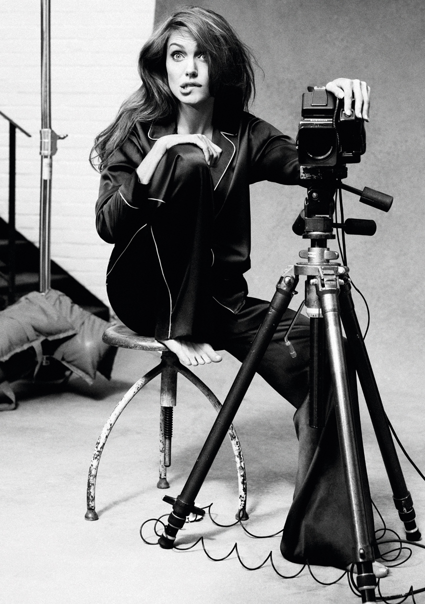 Angelina Jolie Self-portraits with a Hasselblad