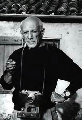 Picasso with a Leica